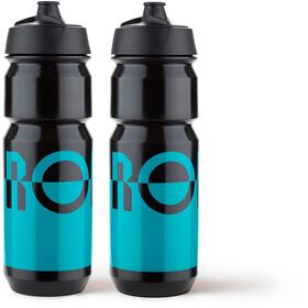 RONDO Rondo Water Bottle Set 750ml 2 Pieces teal/black